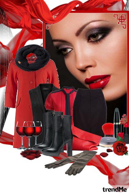 Дуэт красного и черного