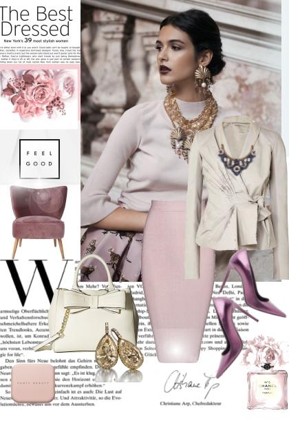 Pink palette- Fashion set