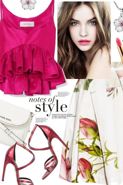 August 2 Magenta- Fashion set