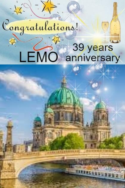 Happy 39th anniversary LEMO!