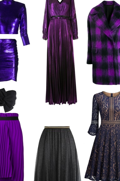 Purple and Black Contest items