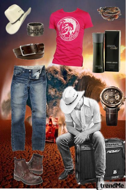 modern cowboy...