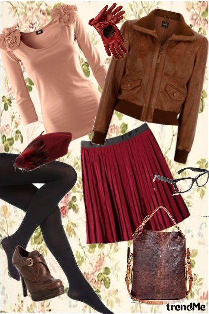 back to school.....- Fashion set