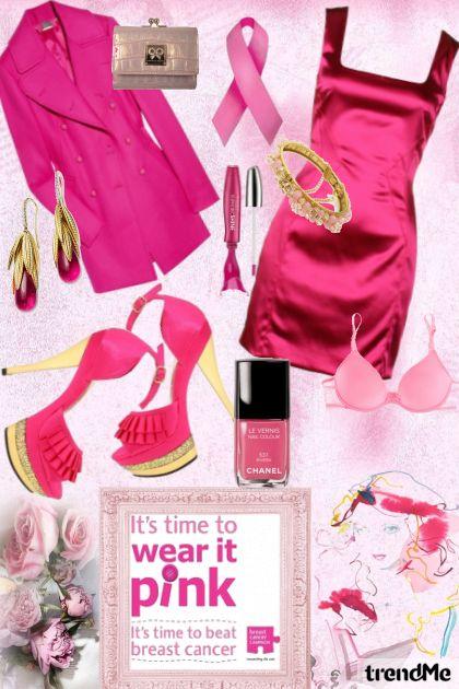 wear it pink....