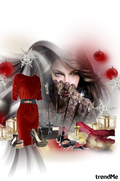 macija crvene haljine