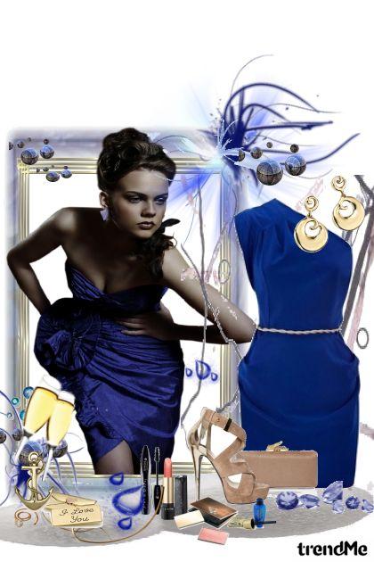 spoj snova u plavoj haljini