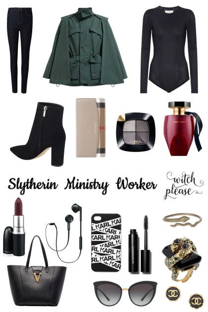 Slytherin Ministry Worker