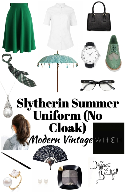 Slytherin Summer Uniform- Modekombination