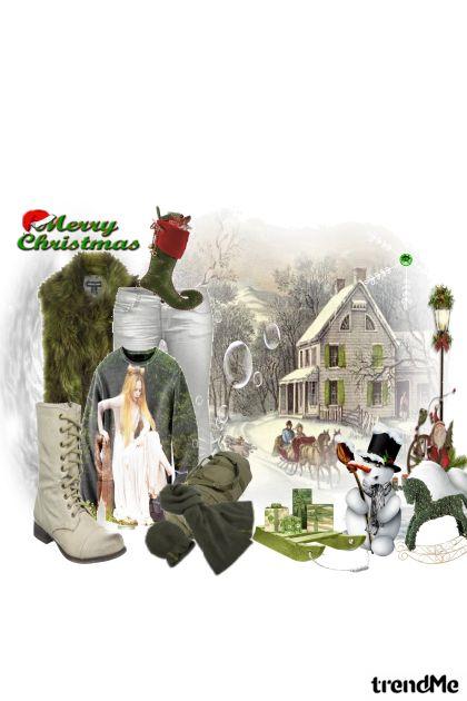 u očekivanju bijelog Božića...