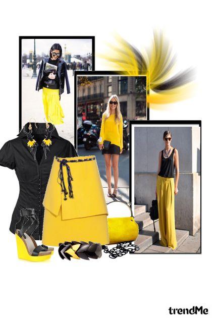 moja crno žuta kombinacija...