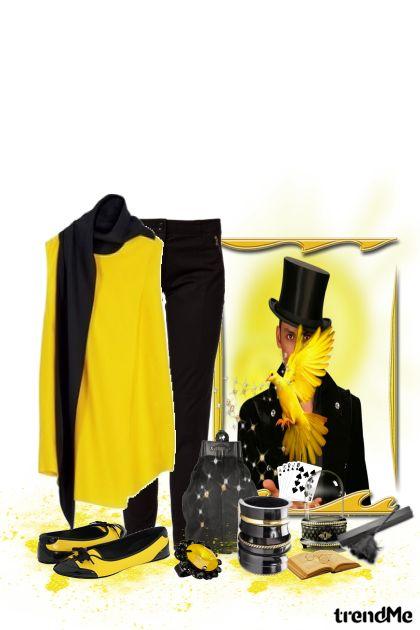 žuto-crna mađioničarka...