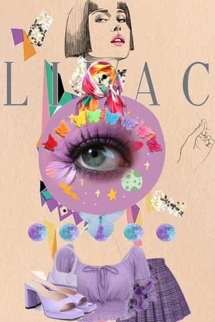 L I L A C- Fashion set