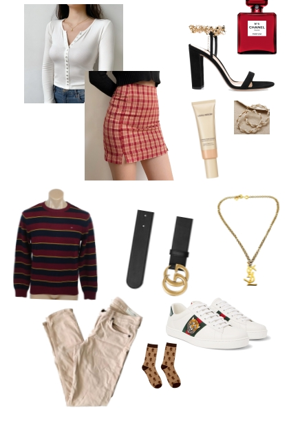 February as Outfits