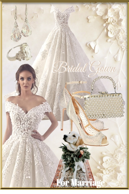 Bridal Gown- Fashion set