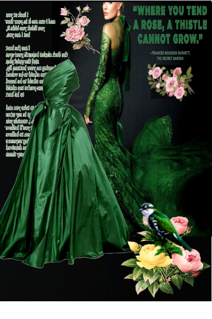 Green in Fashion- Modekombination