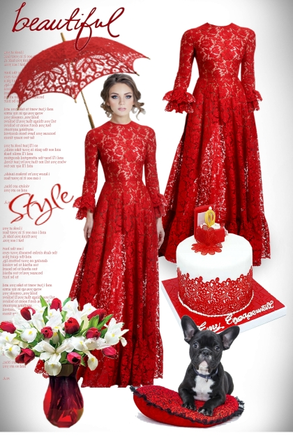 Lace Red