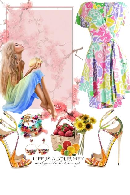 Happy colors- combinação de moda