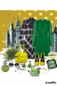 zelena haljina