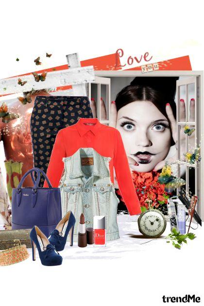boje jeseni- Fashion set