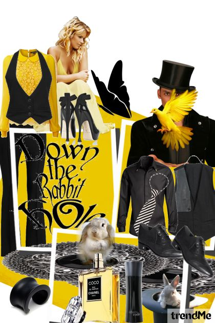 Black and yellow !