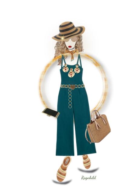 Invisible Doll with Jumpsuit 1)- Combinazione di moda