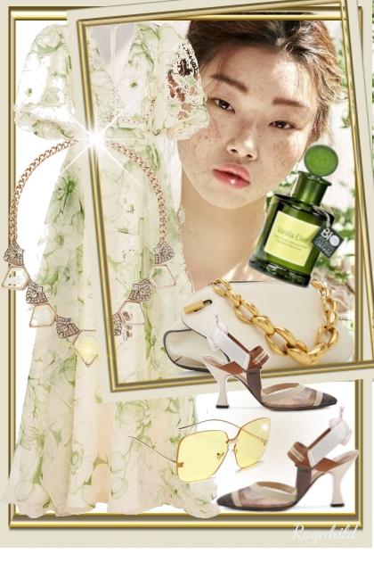 Blomstret Sommerkjole