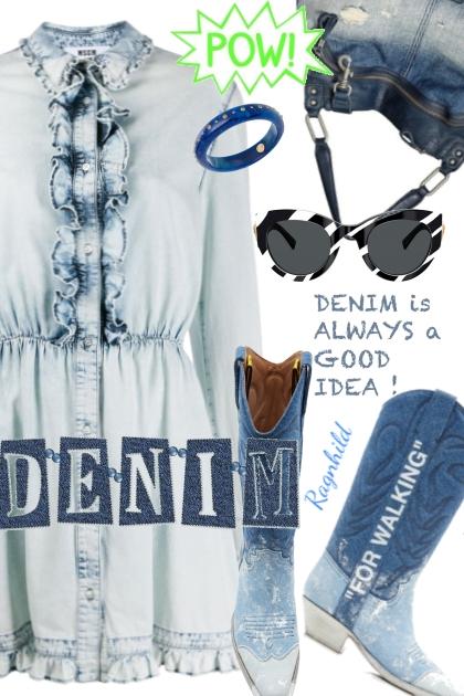 Denim Contest 3)- Combinazione di moda