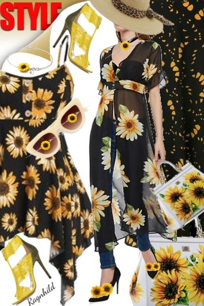 Sunflowers Contest 2)- Combinazione di moda