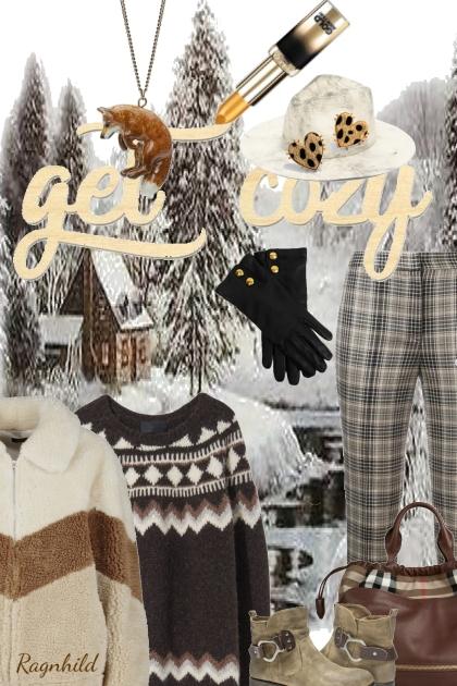 Get Cozy- Fashion set