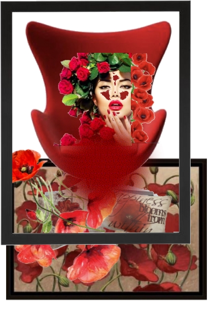 rød- Fashion set
