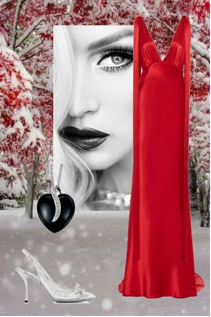 Red&White Noir
