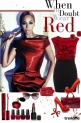 Beyonce style-she in doubt wear red *___*