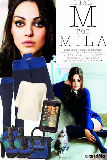 Mila Kunis - ritam mode- za htc