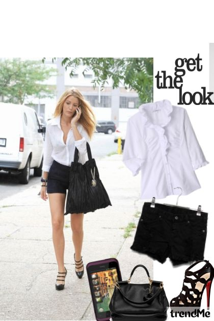 <3 Blake lively----> Get the look!