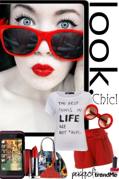 Look chic!!