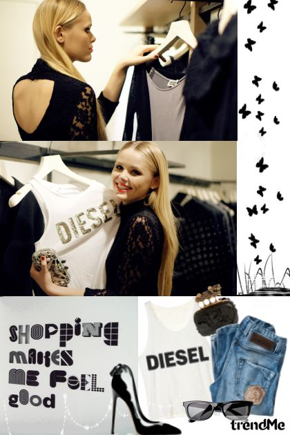 Are we ready for another shopping,girls?- Fashion set