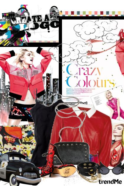Create yours own crazy colour