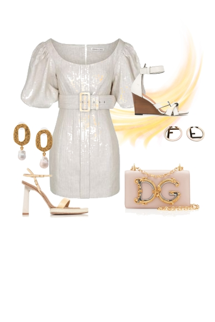 The Classic Evening outfit for a Pear Shape