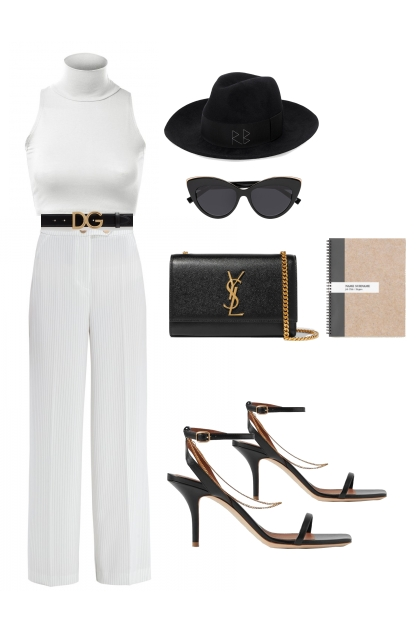 The Glamorous look for an office pear shape