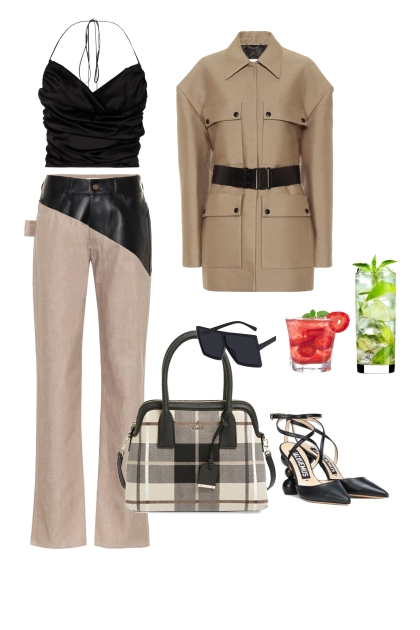 The Fashion Forward Evening look for a pear shape