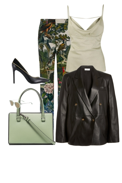 The Eccentric Office outfit for a pear shape