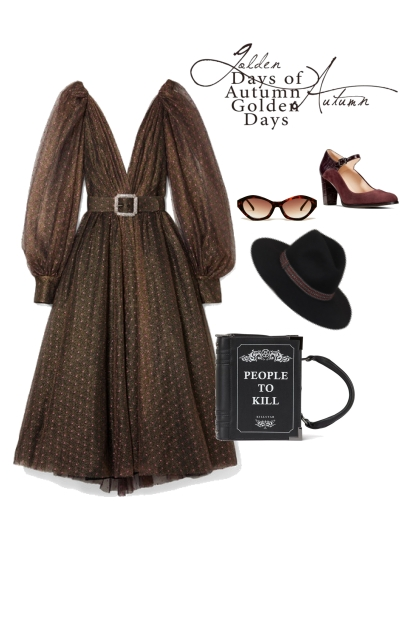 The Eccentric Evening outfit for a rectangle shape