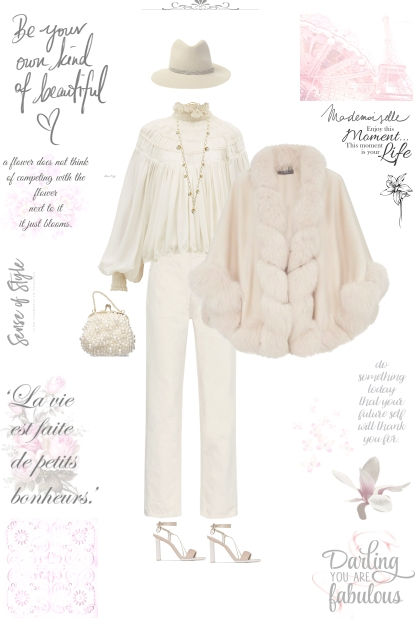 Creamy elegance