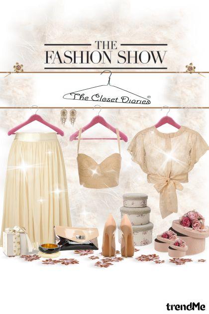 The fashion show...