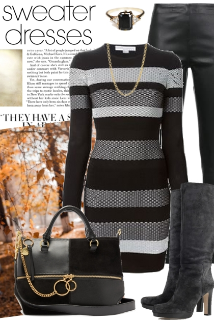 Sweater Dresses- Fashion set