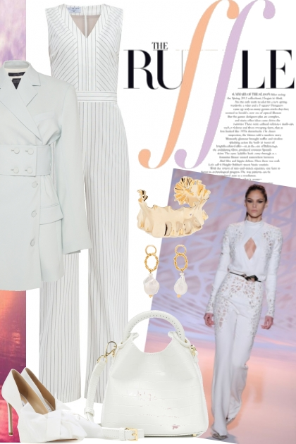 White After Labor Day- Fashion set