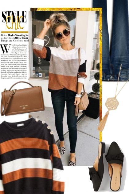 Striped Sweater:  StitchFix Find
