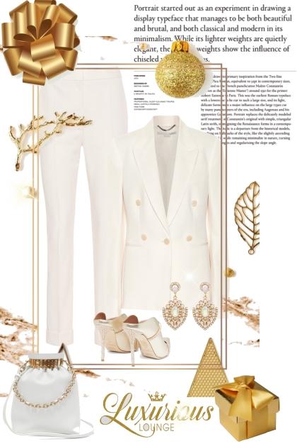 White Winter- Fashion set