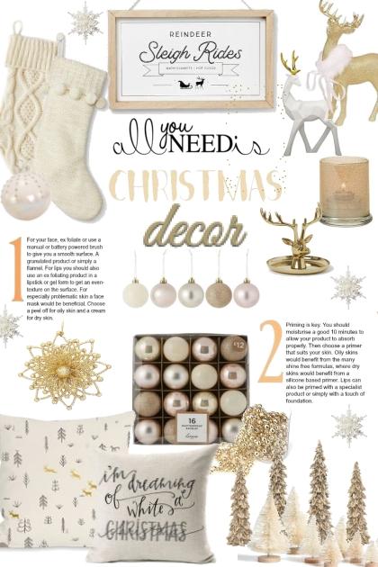 All You Need Is Christmas Decor