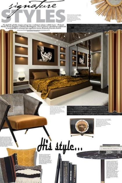 His Interior Style